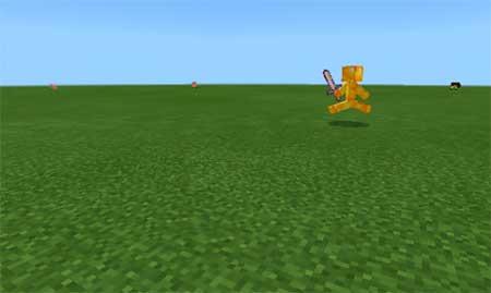 Yellow Steve mcpe 2
