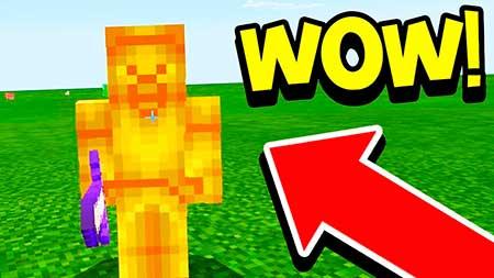Мод Yellow Steve для Minecraft PE