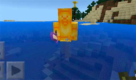 Yellow Steve mcpe 1