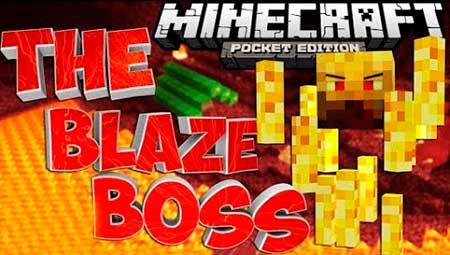 Мод Blaze Boss для Minecraft PE