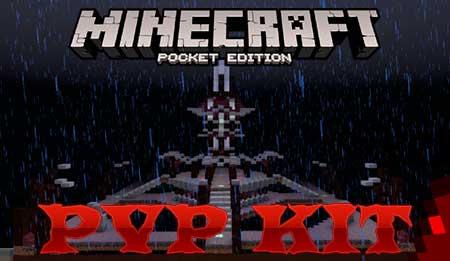 Карта PVP KIT для Minecraft PE