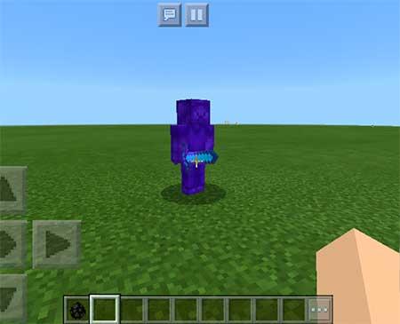Blue Steve mcpe 1