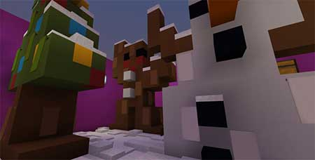 Rudolph's Adventure – Find The Button mcpe 3