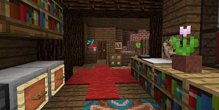Gingerbread House mcpe 2
