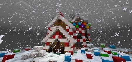 Gingerbread House mcpe 1