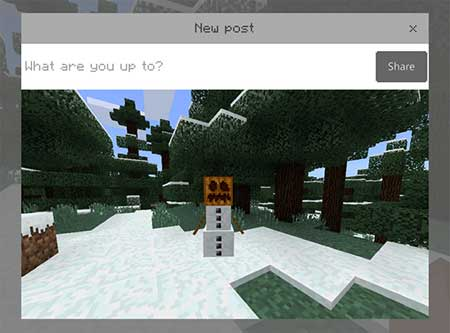 Take Screenshot Button mcpe 4