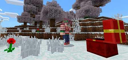Winter Season mcpe 1