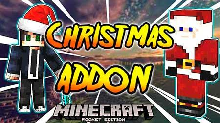 Мод Christmas для Minecraft PE