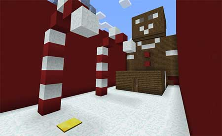 Find the Button Christmas mcpe 2