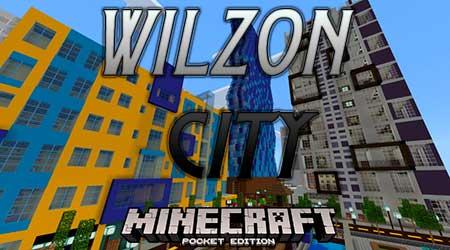 Карта Wilzon City для Minecraft PE