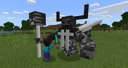 Мод Netherking для Minecraft PE