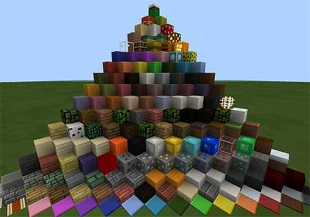 Текстуры Plastic [16×16] для Minecraft PE