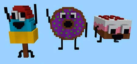 Burn It Down: Desserts Edition mcpe 2