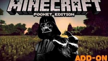 Мод Darth Vader для Minecraft PE