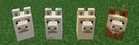 Llama Heads mcpe 3