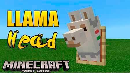 Текстуры Llama Heads для Minecraft PE