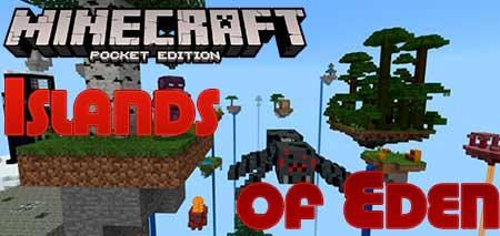Карта Islands of Eden для Minecraft PE