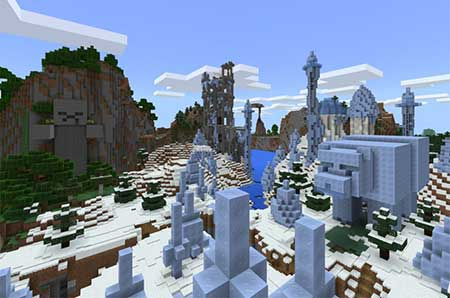 Console Edition World for Bedrock Edition mcpe 4