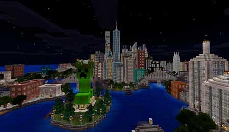 Mine York City mcpe 1