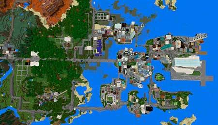 Mine York City mcpe 6