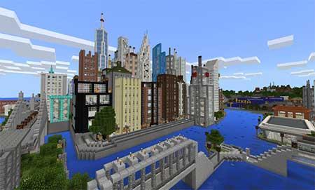 Mine York City mcpe 3