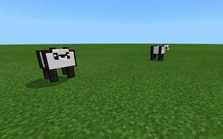 Panda mcpe 1