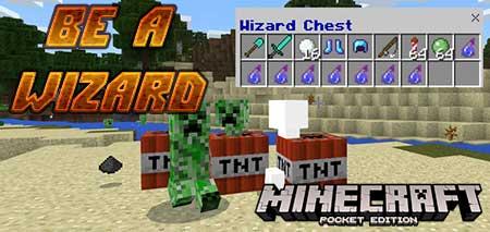 Карта Be a Wizard для Minecraft PE