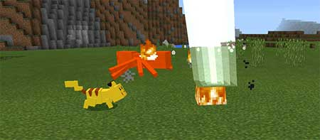 Pikachu and Raichu mcpe 4