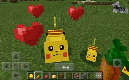 Pikachu and Raichu mcpe 1