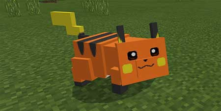 Pikachu and Raichu mcpe 3