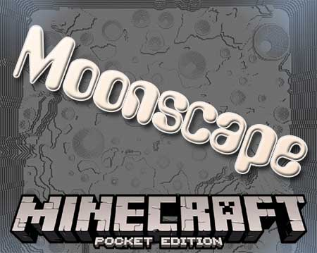 Карта Moonscape для Minecraft PE