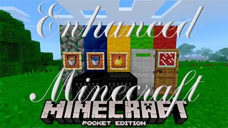 Текстуры Enhanced Minecraft для Minecraft PE