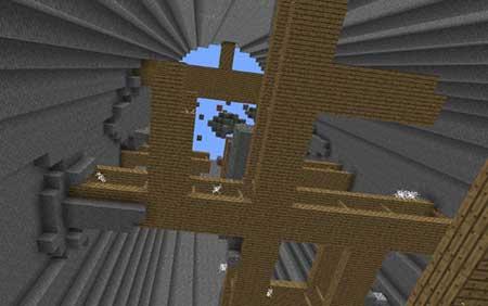 Карта Antidropper для Minecraft PE