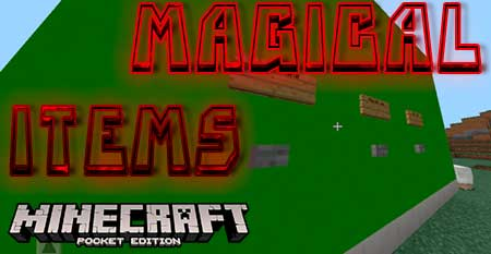 Карта Magical Items для Minecraft PE