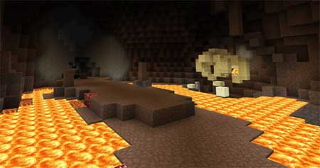 Lava Monster Boss mcpe 2