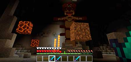 Lava Monster Boss mcpe 4