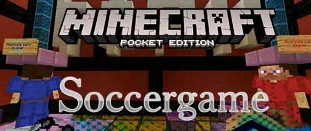 Мод Soccergame для Minecraft PE