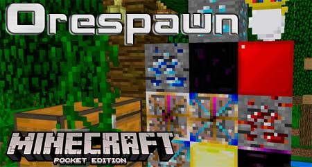 Текстуры Orespawn для Minecraft PE