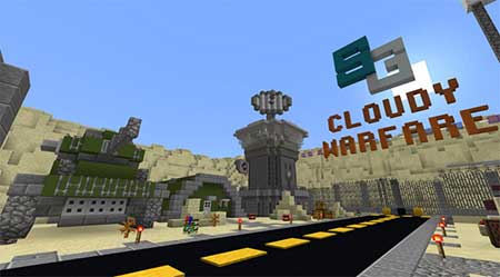 SG Cloudy Warfare mcpe 1