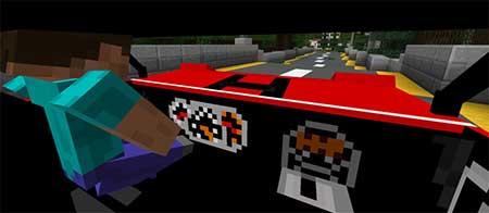 Мод Mini Cooper для Minecraft PE