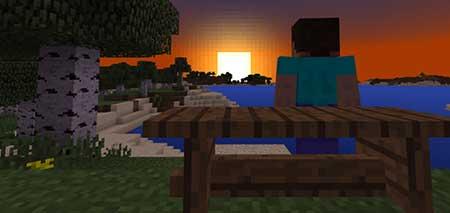 Текстуры Wooden Benches для Minecraft PE