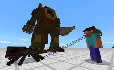 Steampunk Robot mcpe 2