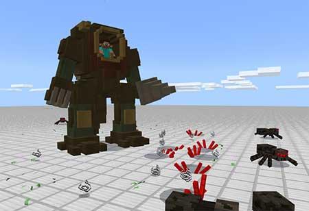 Steampunk Robot mcpe 4