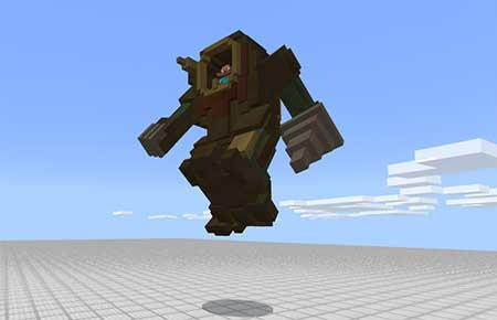 Steampunk Robot mcpe 3