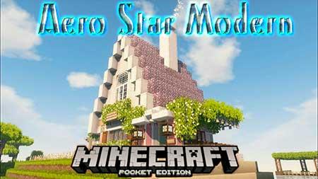 Текстуры Aero Star Modern для Minecraft PE