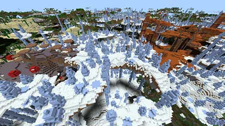 Ultra Amplified Survival World mcpe 3