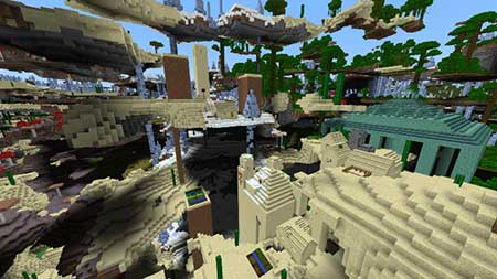 Ultra Amplified Survival World mcpe 1