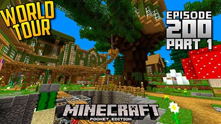 Карта Dallasmed65's Let's Play World Season 1 для Minecraft PE