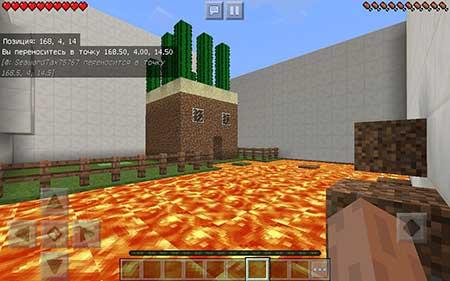 Карта Super Mega Parkurint для Minecraft PE