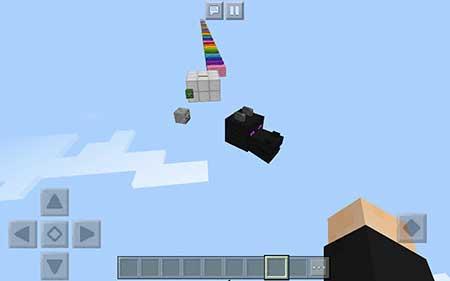 Карта Arcobaleno Parkur для Minecraft PE
